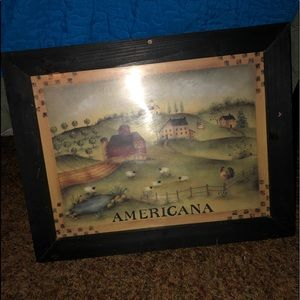 Other - Primitive Wooden Americana picture